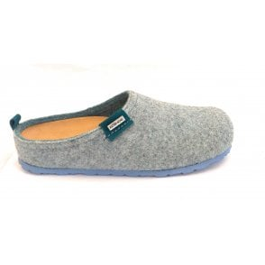 Pale turquoise Mule Slippers