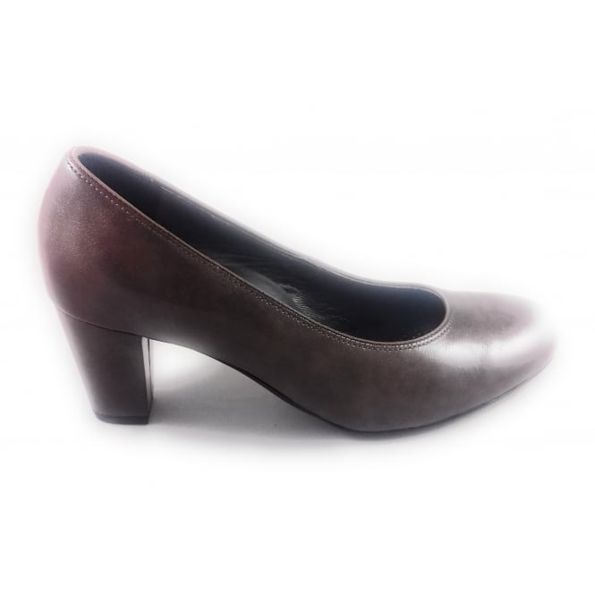 Ara Paris 12-32837 Taupe Patent Court Shoe