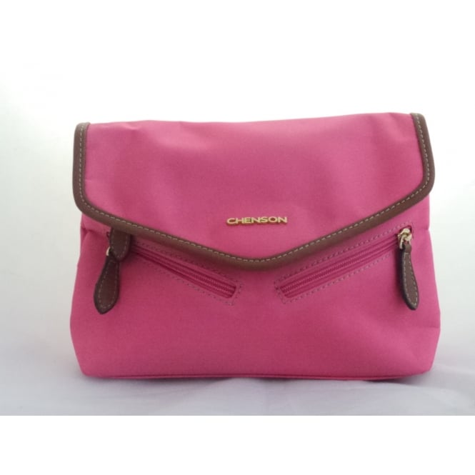 Lotus Pink Shoulder Bag