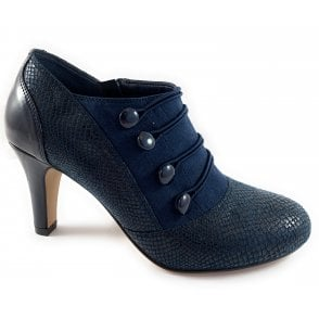 Pixie Navy Shoe Boot