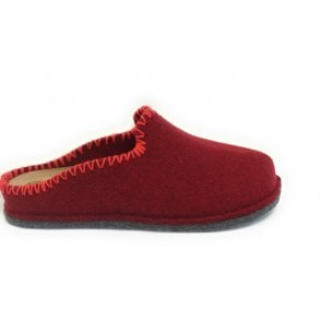 Red Mule Slippers