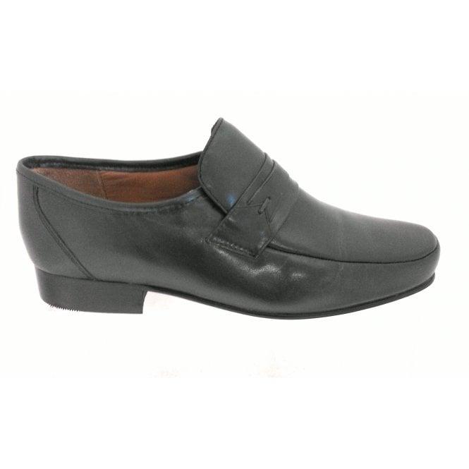 4b94e07eb81c2 Regent Men's Grey Leather Loafer - from size4footwear.com UK