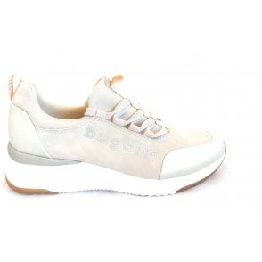 Rise 431-A2L60-5055 Beige and Gold Trainers