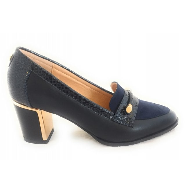 Lotus Selina Navy Court Shoe