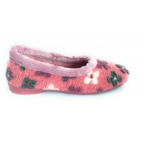 Shazam Pink Floral Slippers