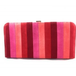 Sheraton Red Multi Microfibre Handbag