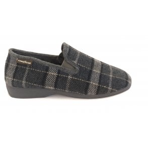 Simpson Grey Mens Slippers