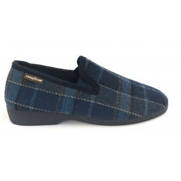 Simpson Navy Mens Slippers