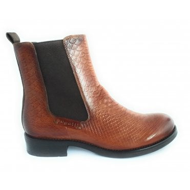 Sinja Brown Leather Chelsea Boots