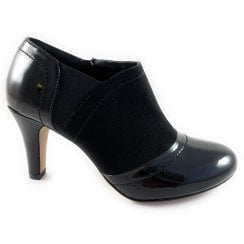 Skylar Black Shoe Boot