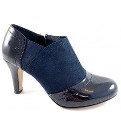 Skylar Navy Shoe Boot