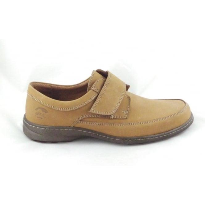 Softwalk Mens Tan Nubuck Leather Casual