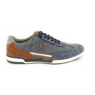 Solar Exko 321-72603-5000 Mens Blue Trainers