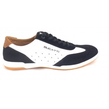 Solar Exko 321-72611-5014 Mens Black and White Trainers