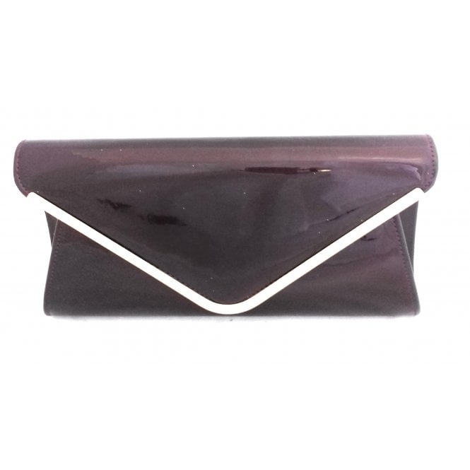 Lotus Sommerton Berry Patent Clutch Bag
