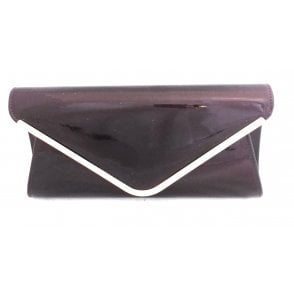 Sommerton Berry Patent Clutch Bag