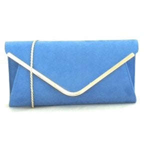 Sommerton Cornflower Blue Occasion Bag