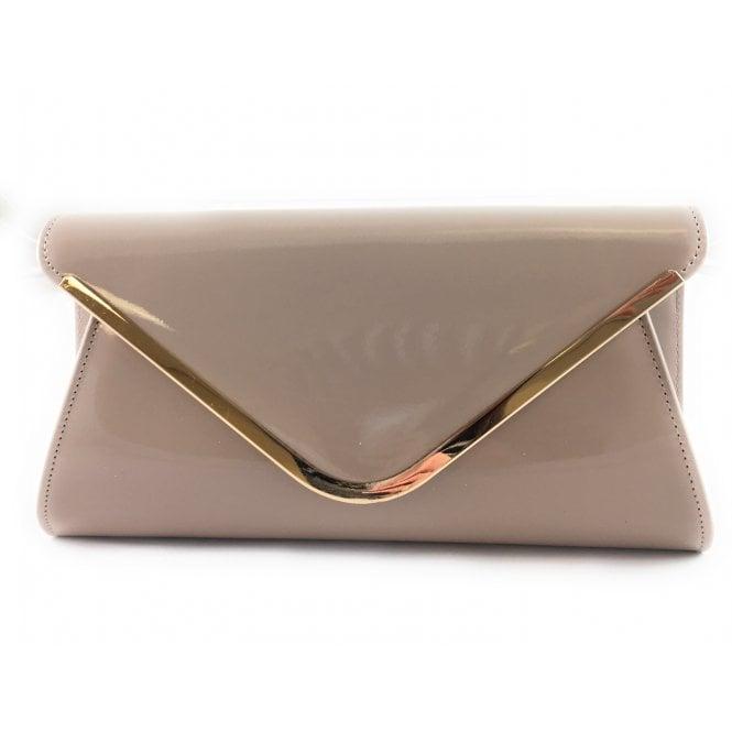 Lotus Sommerton Nude Patent Handbag