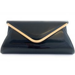 Sommerton Patent Clutch Bag