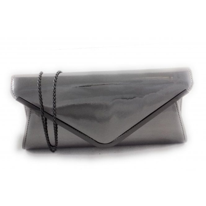 Lotus Sommerton Pewter Metallic Clutch Bag