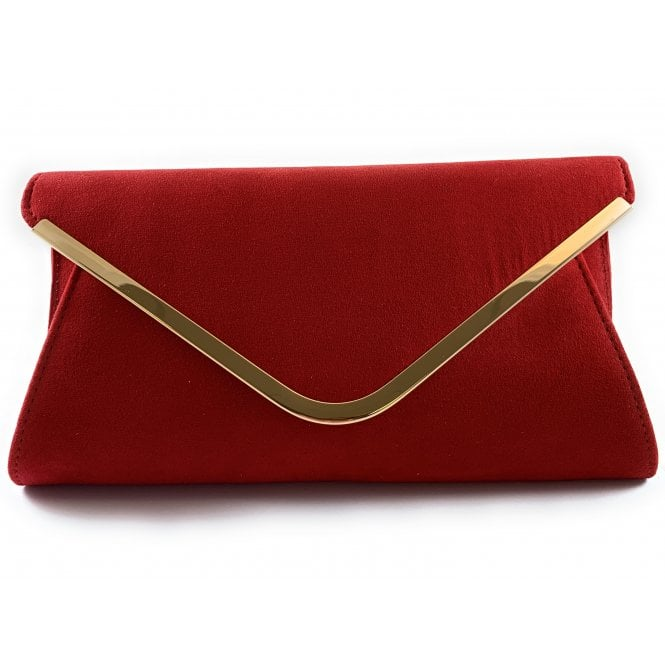 Lotus Sommerton Red Microfibre Occasion Bag