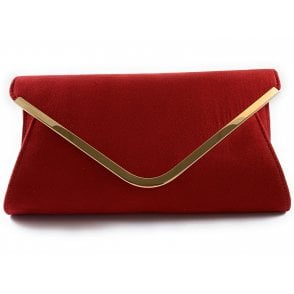 Sommerton Red Microfibre Occasion Bag