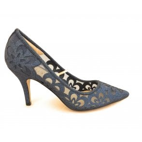 Sparkle Navy Glitz Court Shoe