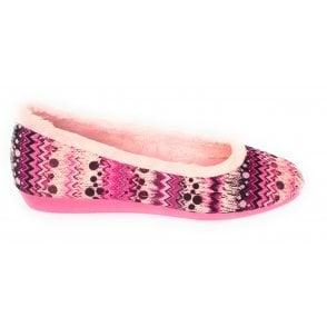 Sugarlump Pink Ballerina Slipper
