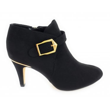 Summer Black Shoe Boot