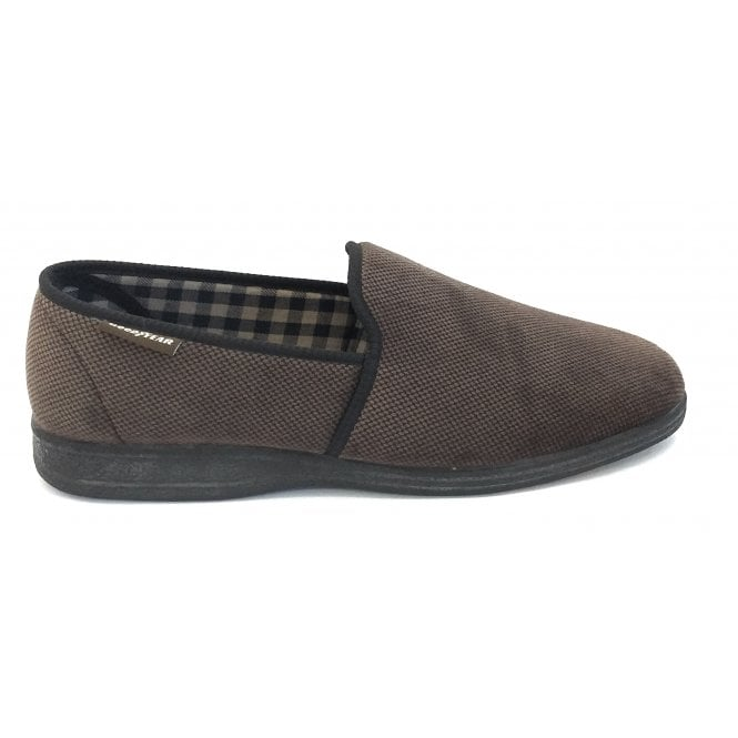 Goodyear Swale Mens Brown Slippers