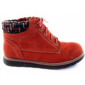 Sycamore Rust Lace-Up Casual Ankle Boot