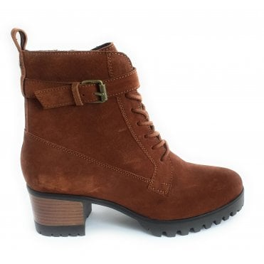 Sydney Tan Suede Ankle Boot