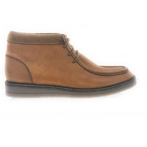 Syston Tan Leather Boot