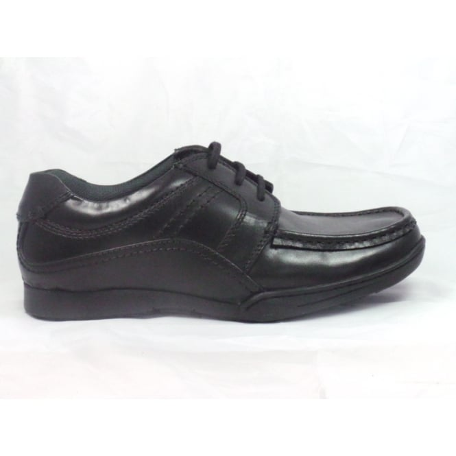 Lotus Tillman Black Leather Lace-up Mens Shoe