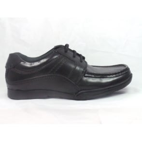 Tillman Black Leather Lace-up Mens Shoe