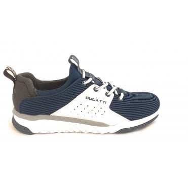 Tinker 341-A3761-6900 Dark Blue and White Mens Trainers