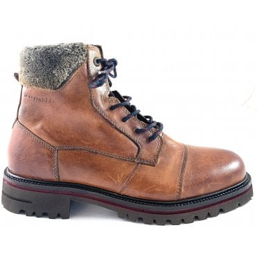 Tizaro Light Mens Brown Leather Boots