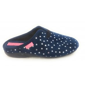 Twinkle Blue Mule Slipper