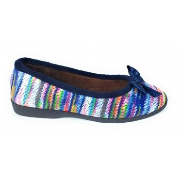 Twizzle Blue Ballerina Slipper