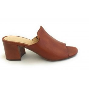 Vaiana 411-67991-4100 Tan Leather Mules