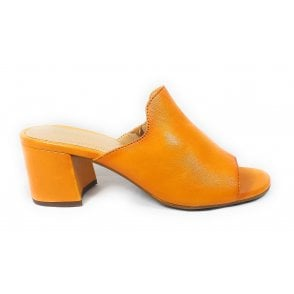 Vaiana 411-67991-4100 Yellow Leather Mules