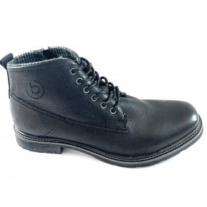 Vandal Mens Black Leather Boots