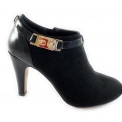 Vicki Black Shoe Boot