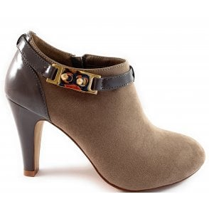 Vicki Taupe Shoe Boot