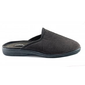 Witham Brown Mule Slippers