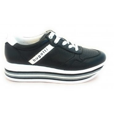 Womens 431-88002-5559 Lian Black Trainers